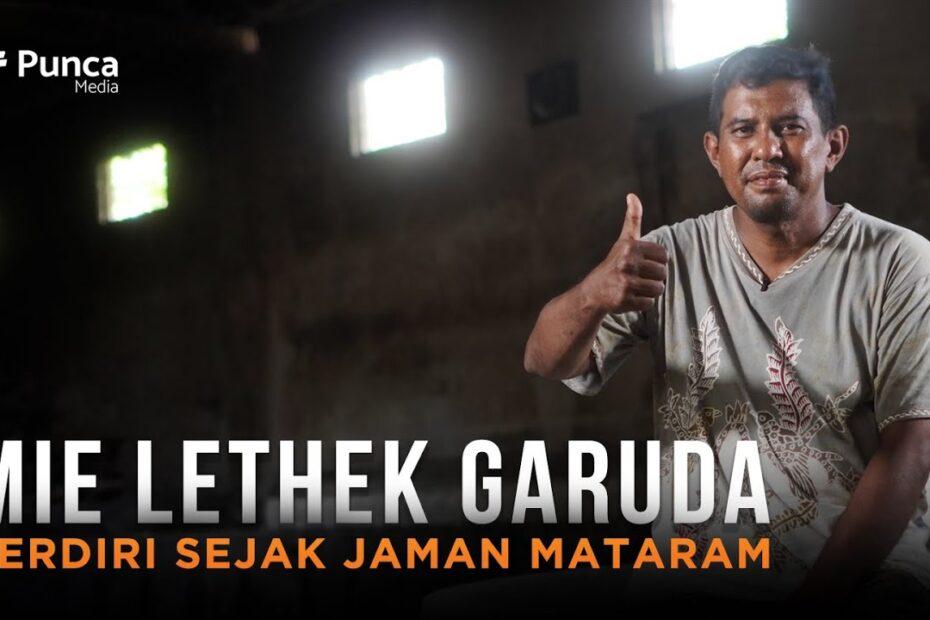 Mie Lethek Garuda